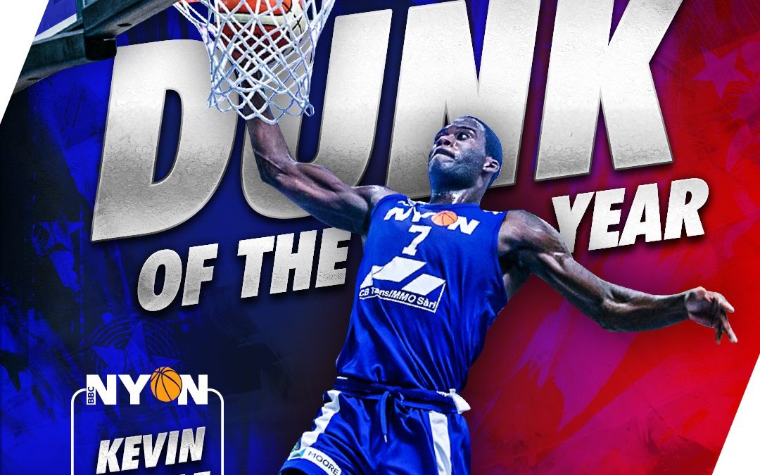 Kevin Mickle, Dunk of the Year