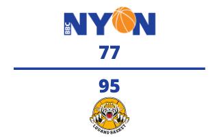BBC Nyon VS. Lugano Tigers – 28.11.2020