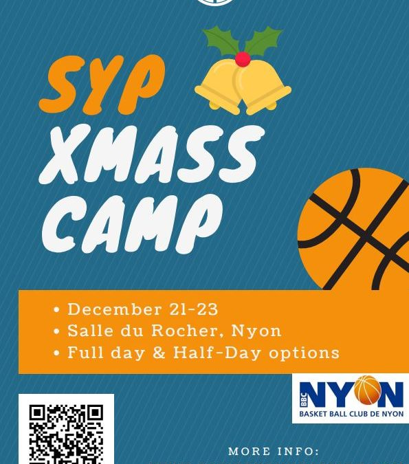 Camps Noël Stride Your Passion