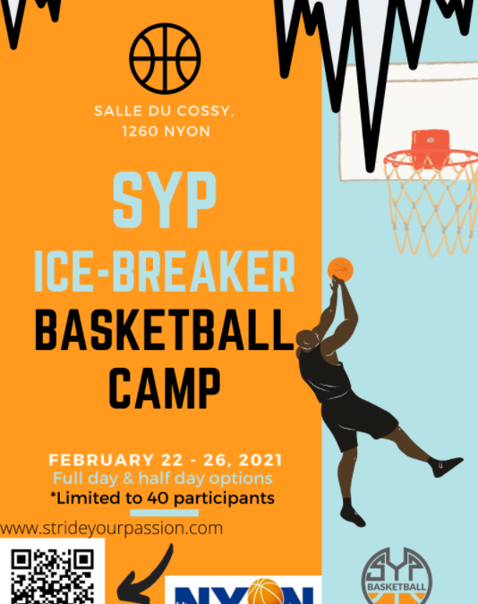 Camps ICE-BREAKER 2021 Stride Your Passion