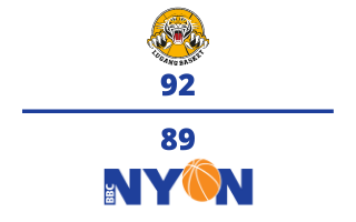 Lugano Tigers VS. BBC Nyon – 17.01.21