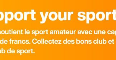 Migros | Support your Sport