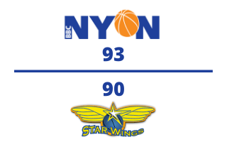BBC Nyon VS. Starwings Basel – 10.02.2021