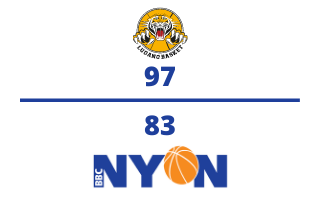 Lugano Tigers VS. BBC Nyon – 06.03.2021