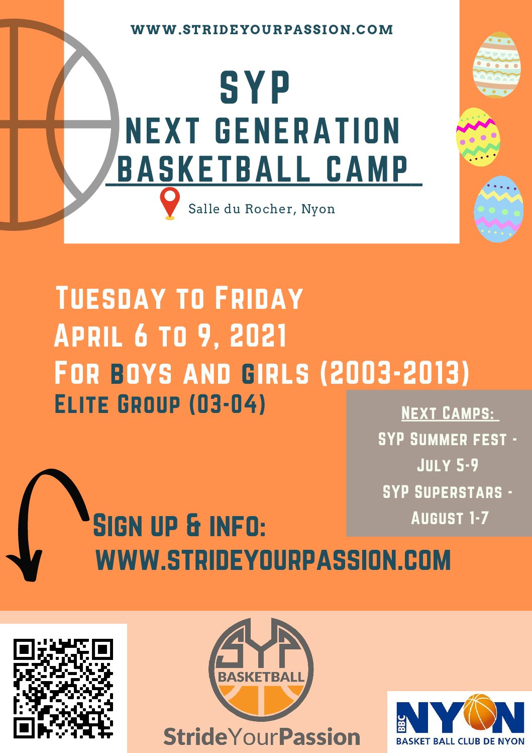 Camps Next generation Stride Your Passion